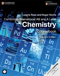Cambridge International AS and A Level Chemistry Course Book