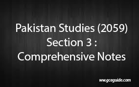 Pk Studies sec 3