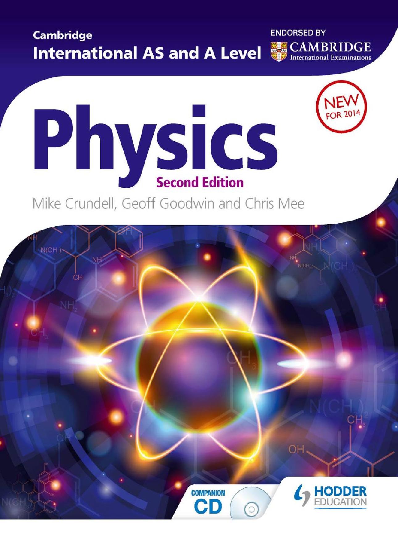 Cambridge International AS and A Level Physics 2 ed