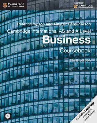 Cambridge International AS & A Level Business (coursebook)